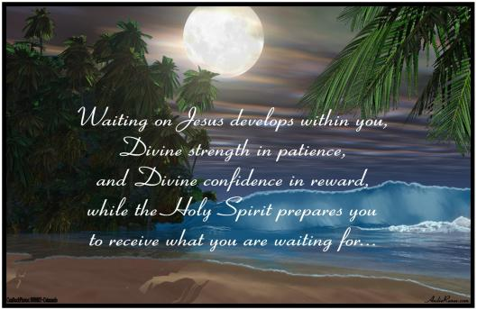 Waiting on Jesus